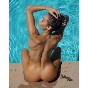 Steph-Fit-Marie-Poolside-Implied-Nude-Printful-8x10-in